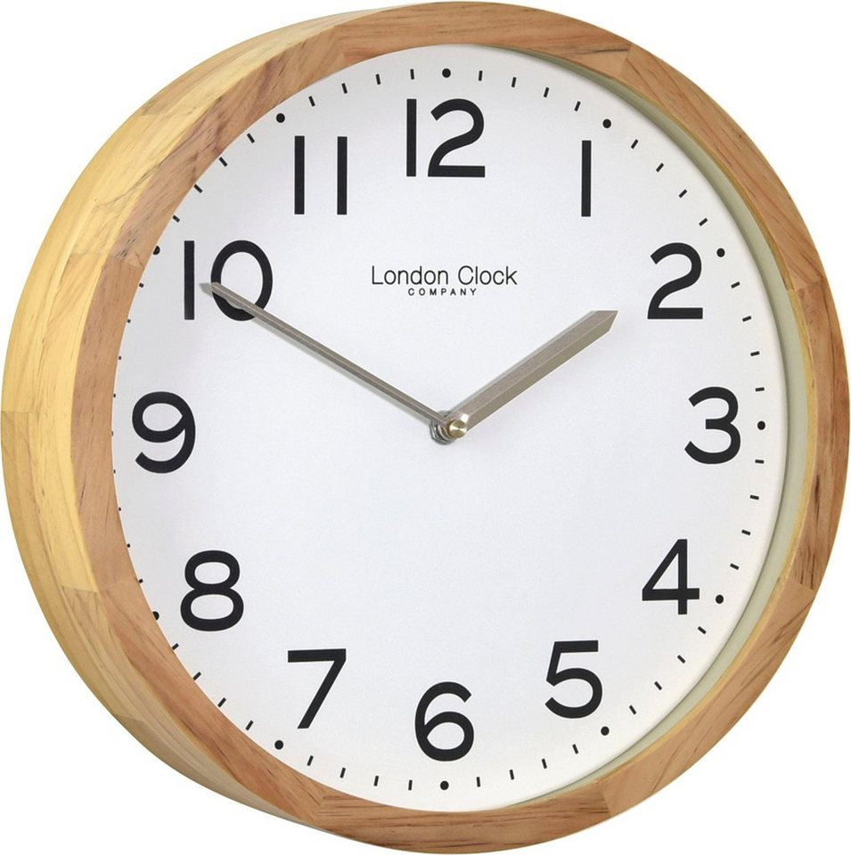 inosign wanduhr london clock 1922 aus buchenholz otto. Black Bedroom Furniture Sets. Home Design Ideas