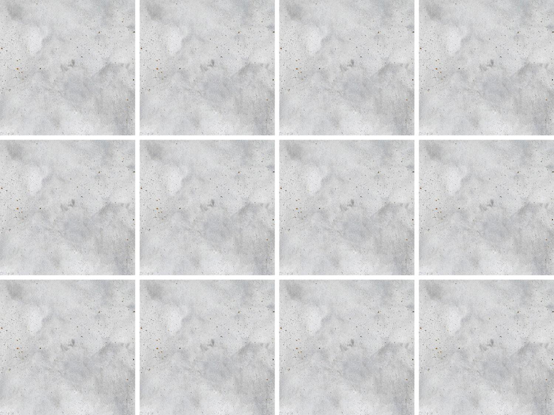 Fliesenaufkleber »Grau« 12x 15/15 cm