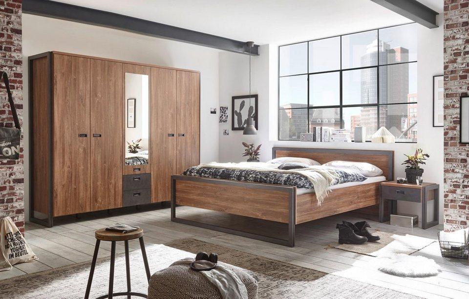 Home affaire Schlafzimmer-Set »Detroit«, Industrial Style online kaufen |  OTTO