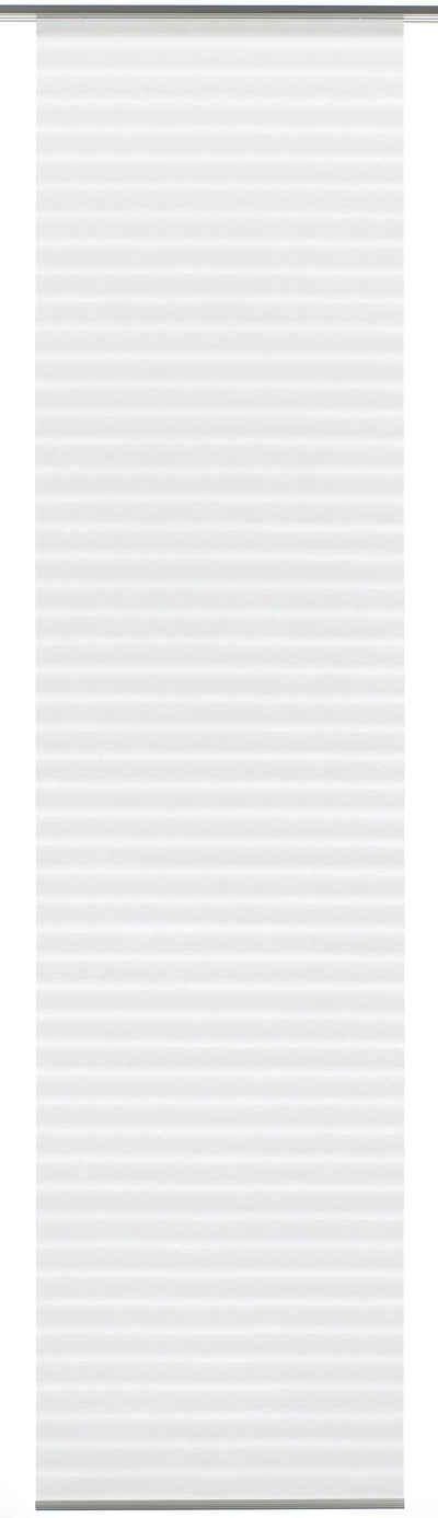 Schiebegardine »Flächenvorhang Natur-optik Flame«, GARDINIA, Klettband (1 Stück), HxB: 300x60