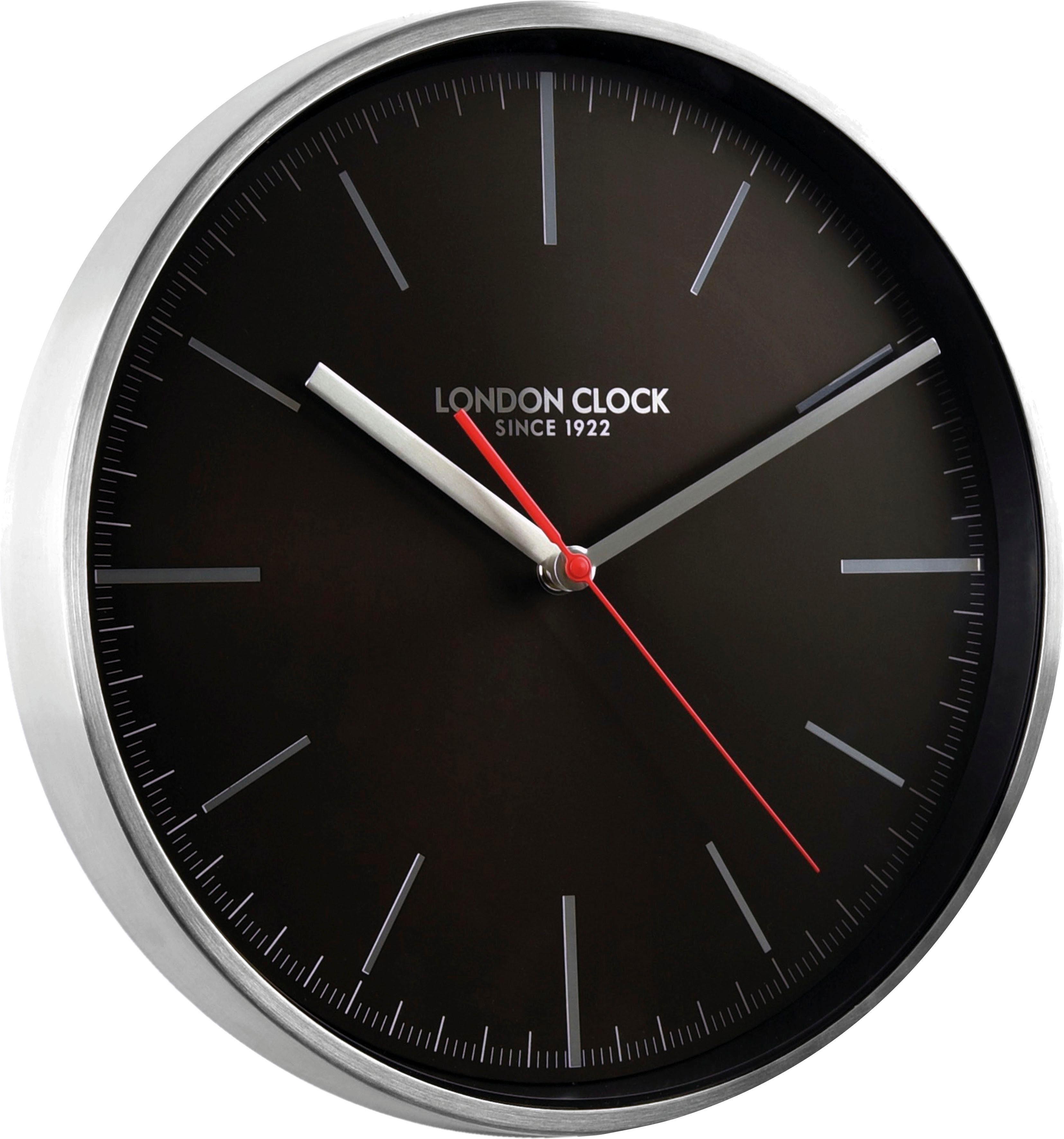 INOSIGN Wanduhr »London Clock 1922« aus Edelstahl, schleichende Sekunde