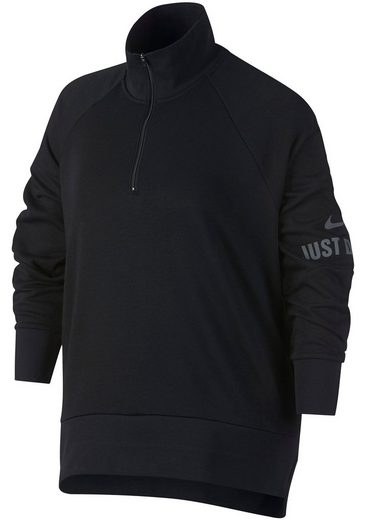 Nike Sweatshirt »W NK DRY TOP MCK HZ ENDR EXT« Große Größen (XL-XXXL)