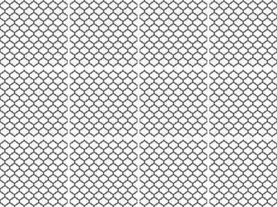 queence Fliesenaufkleber »Muster« (Set, 12 Stück)