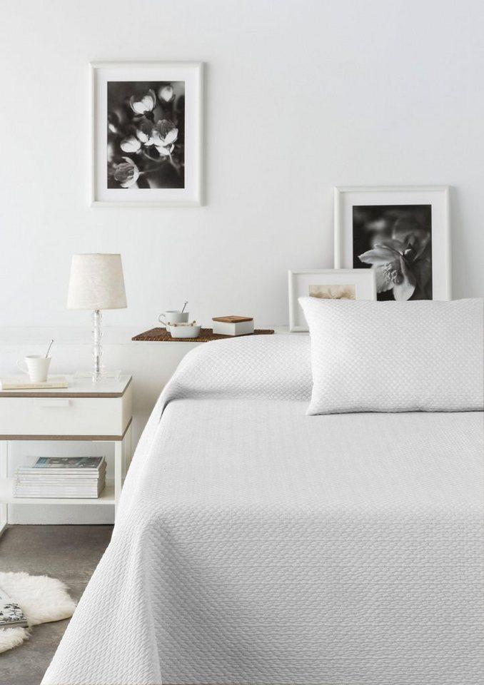 Tagesdecke Annika Vialman Home In Feiner Waffeloptik Online Kaufen Otto