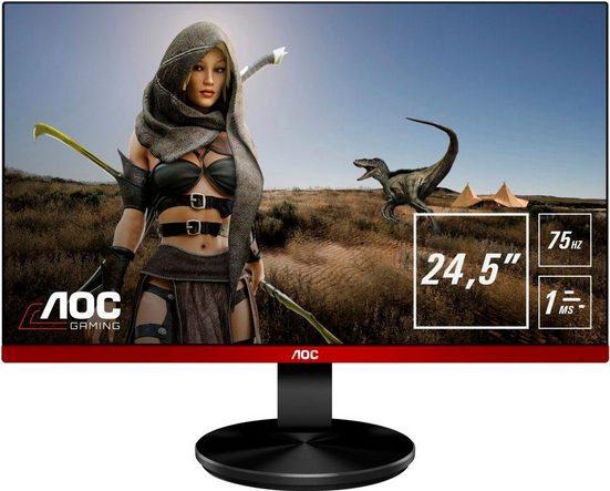AOC G2590VXQ LED-Monitor (1920 x 1080 Pixel, Full HD, 1 ms Reaktionszeit, 75 Hz)