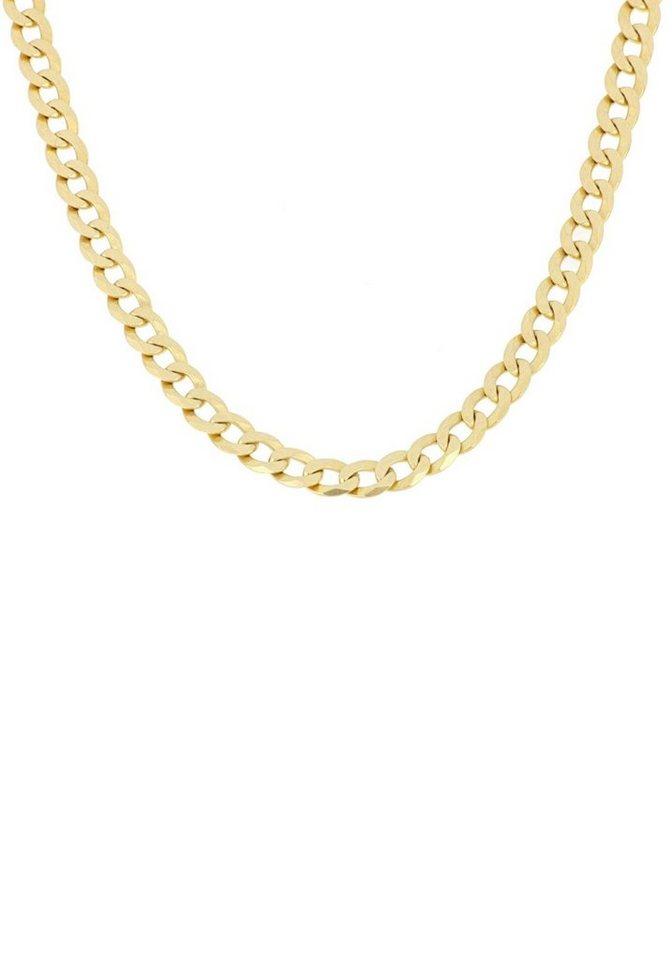 Herren Firetti Panzerkette 6-fach diamantiert  flach gold | 04032410069045