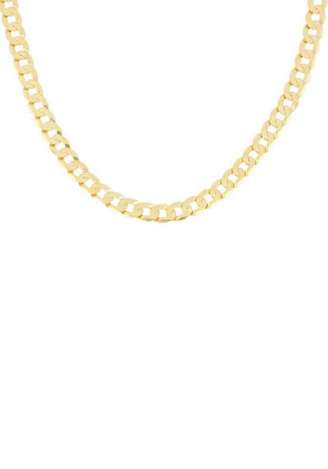 Herren Firetti Panzerkette 6-fach diamantiert  flach  klassisch gold | 04032408600106