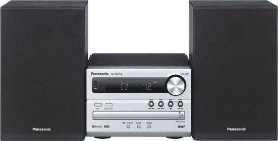 Panasonic »SC-PM254EG« Microanlage (Digitalradio (DAB), FM-Tuner mit RDS, 20 W)