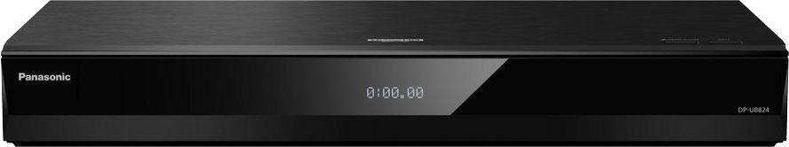 Panasonic »DP-UB824EGK« Blu-ray-Player (4k Ultra HD, WLAN, LAN (Ethernet), 3D-fähig, Sprachsteuerung über externen Google Assistant oder Amazon Alexa)