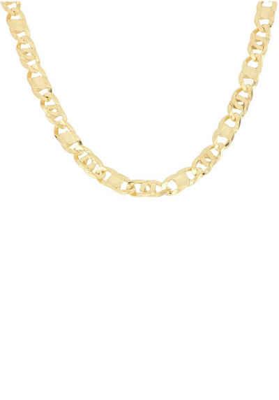 0559942271eb Firetti Goldkette »in Achter-Rebhuhn-Plättchenkettengliederung« 6-fach  diamantiert   poliert