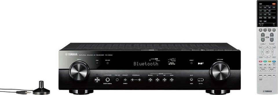 yamaha rx s602 5 1 av receiver wlan lan ethernet. Black Bedroom Furniture Sets. Home Design Ideas