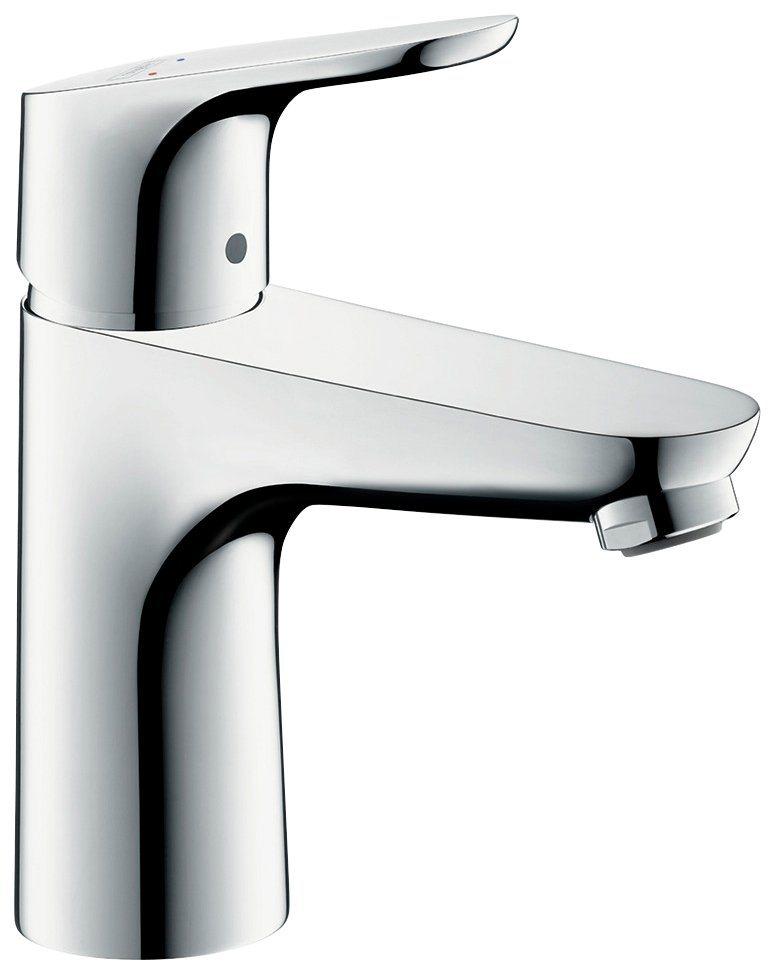 HANSGROHE Waschtisch-Einhebelmischer »Focus 100«, ComfortZone 100, Wasserhahn | Bad > Badmöbel > Badmöbel-Sets | Messing | hansgrohe