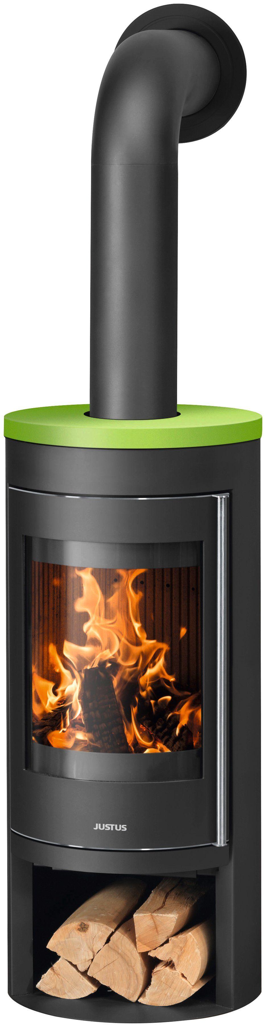 JUSTUS Kaminofen »Mino 2.0 Apple«, Stahl/Keramik, 5 kW, Vermiculite