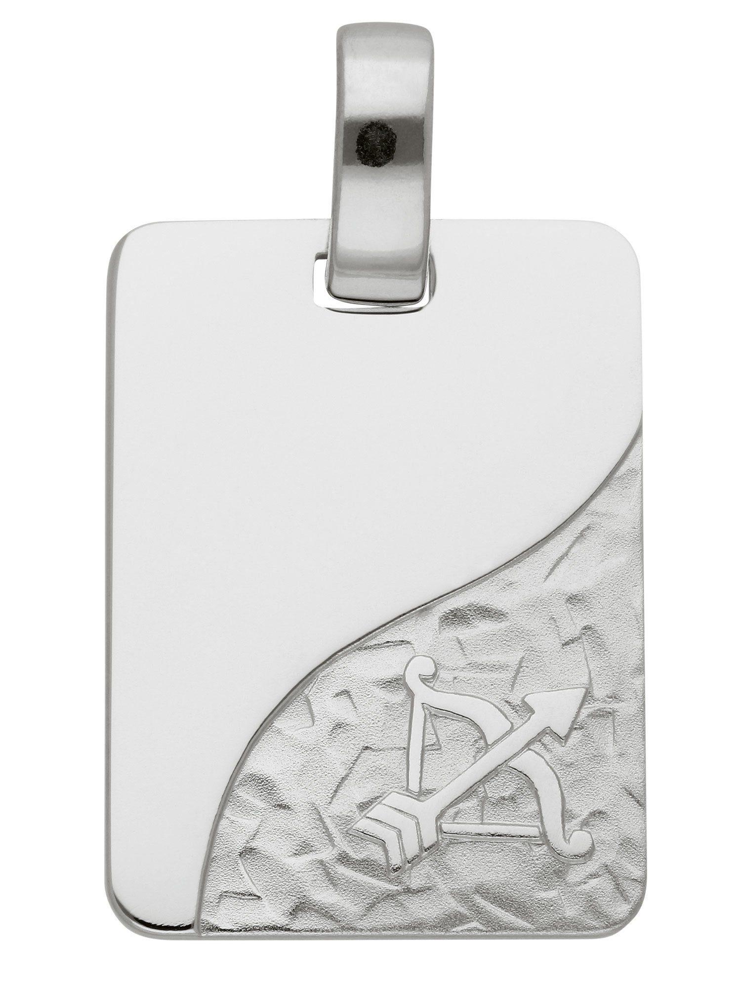 Adelia´s Kettenanhänger »Sternzeichen Silber Anhänger« Schütze 925 Sterling Silber