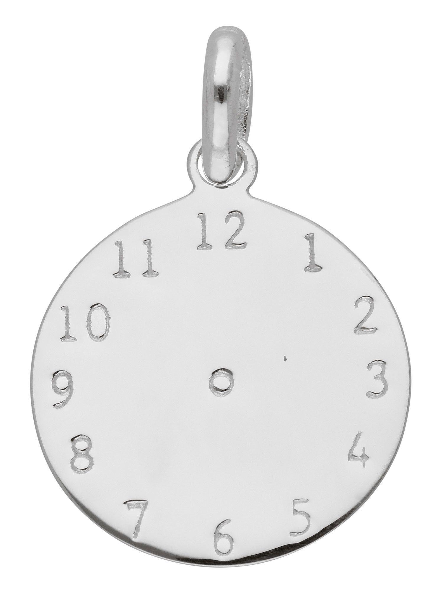Adelia´s Kettenanhänger »Silber Anhänger« Taufuhr 925 Sterling Silber Ø 1.55 cm