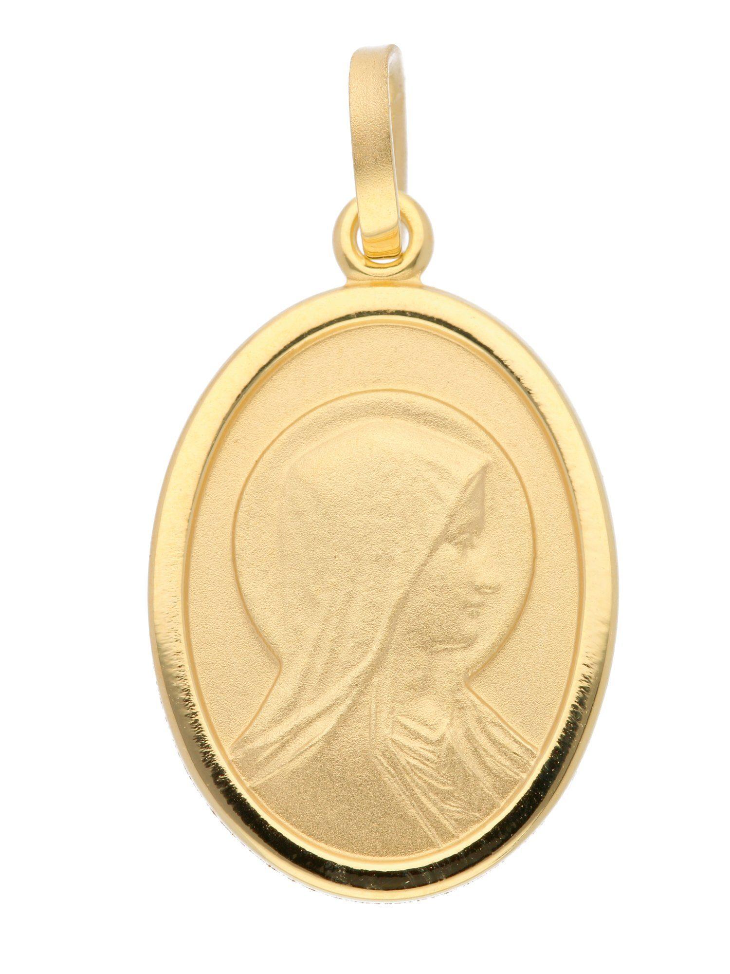 Adelia´s Kettenanhänger »Gold Anhänger« Madonna 8 k 333 Gelbgold
