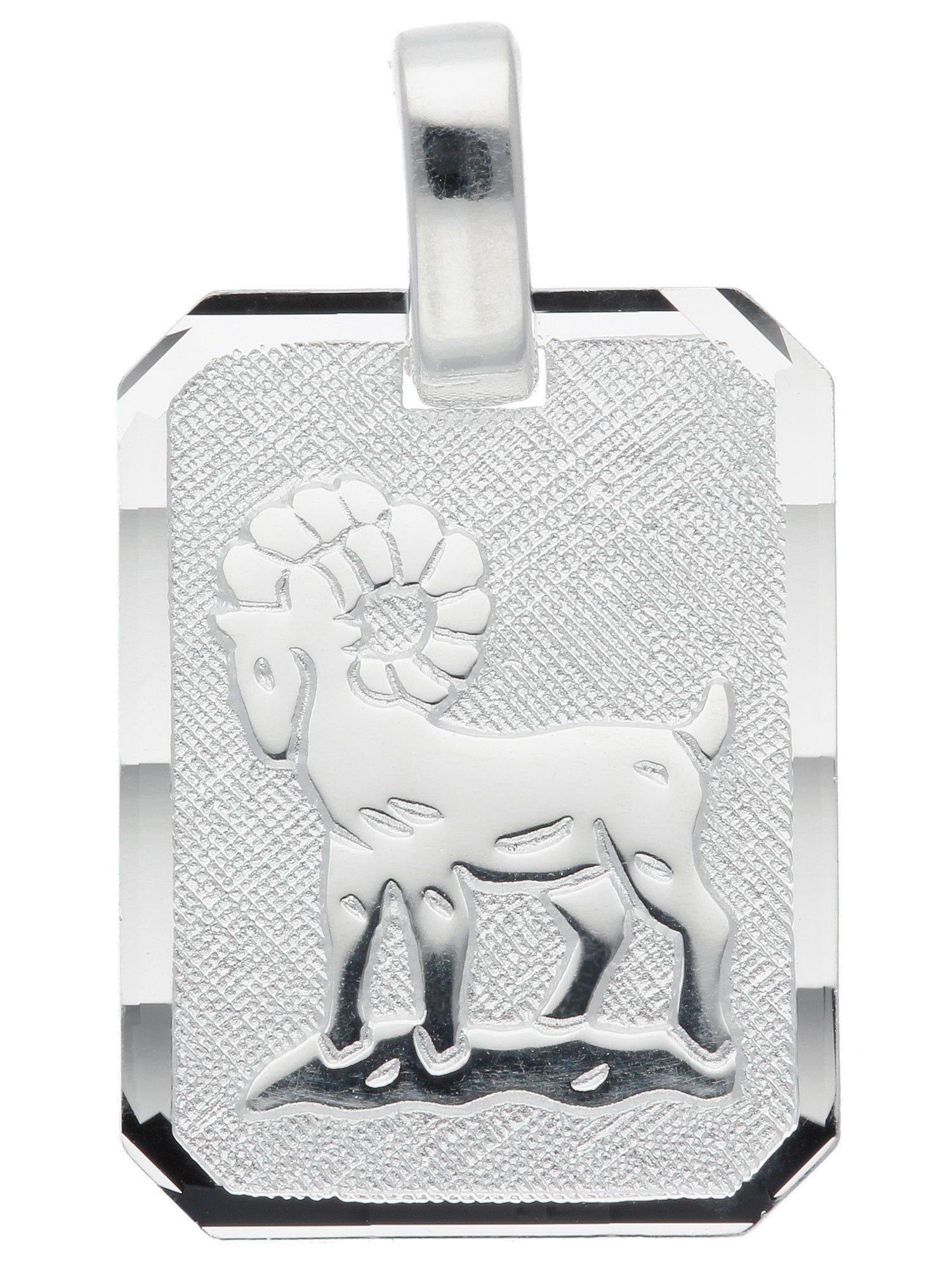 Adelia´s Kettenanhänger »Sternzeichen Silber Anhänger«, Widder 925 Sterling Silber   Schmuck > Halsketten > Ketten ohne Anhänger   Silber   Adelia´s