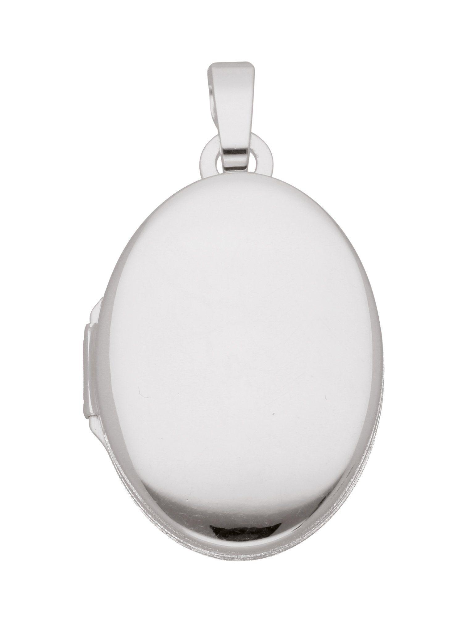 Adelia´s Kettenanhänger »Medaillon Silber Anhänger«, 925 Sterling Silber
