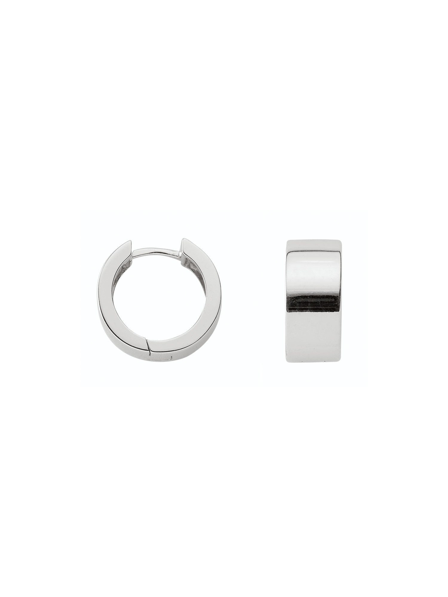 Adelia´s Paar Creolen »Silber Ohrringe« 925 Sterling Silber Ø 1.92 cm