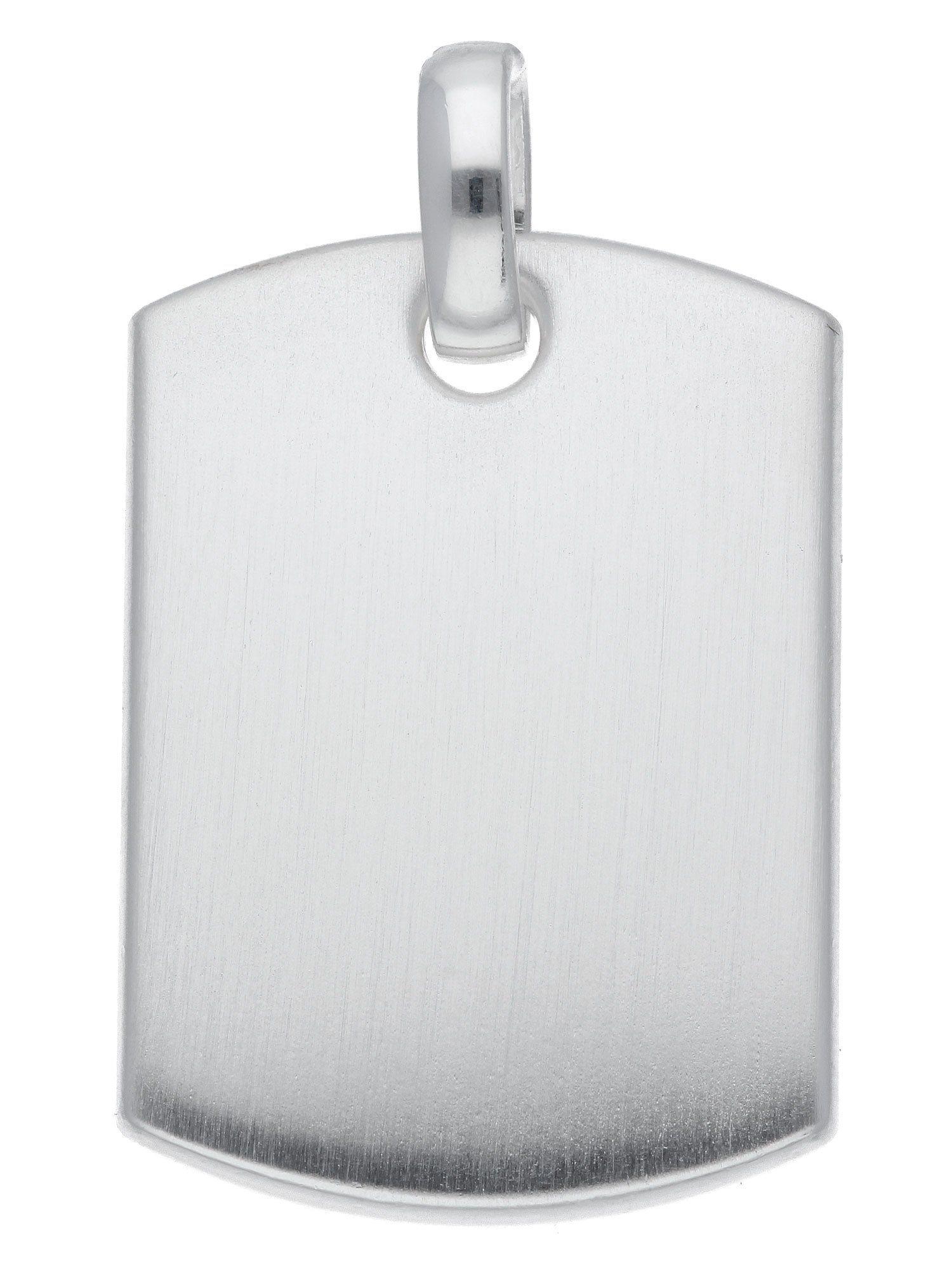 Adelia´s Kettenanhänger »Silber Gravurplatte« 925 Sterling Silber | Schmuck > Halsketten > Ketten ohne Anhänger | Silber | Adelia´s