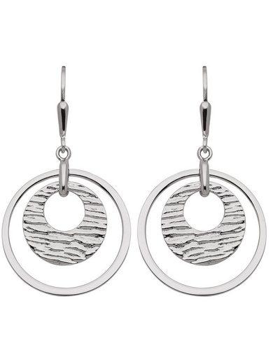 Adelia´s Paar Ohrhänger »Silber 925 Sterling Silver Ohrringe - Ohrhänger«, 925 Sterling Silber Ø 2.32 cm