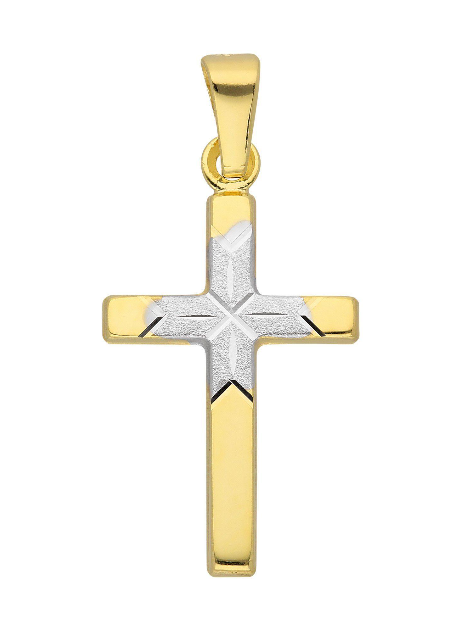 Adelia´s Kettenanhänger »Gold Anhänger« 8 k 333 Gelbgold