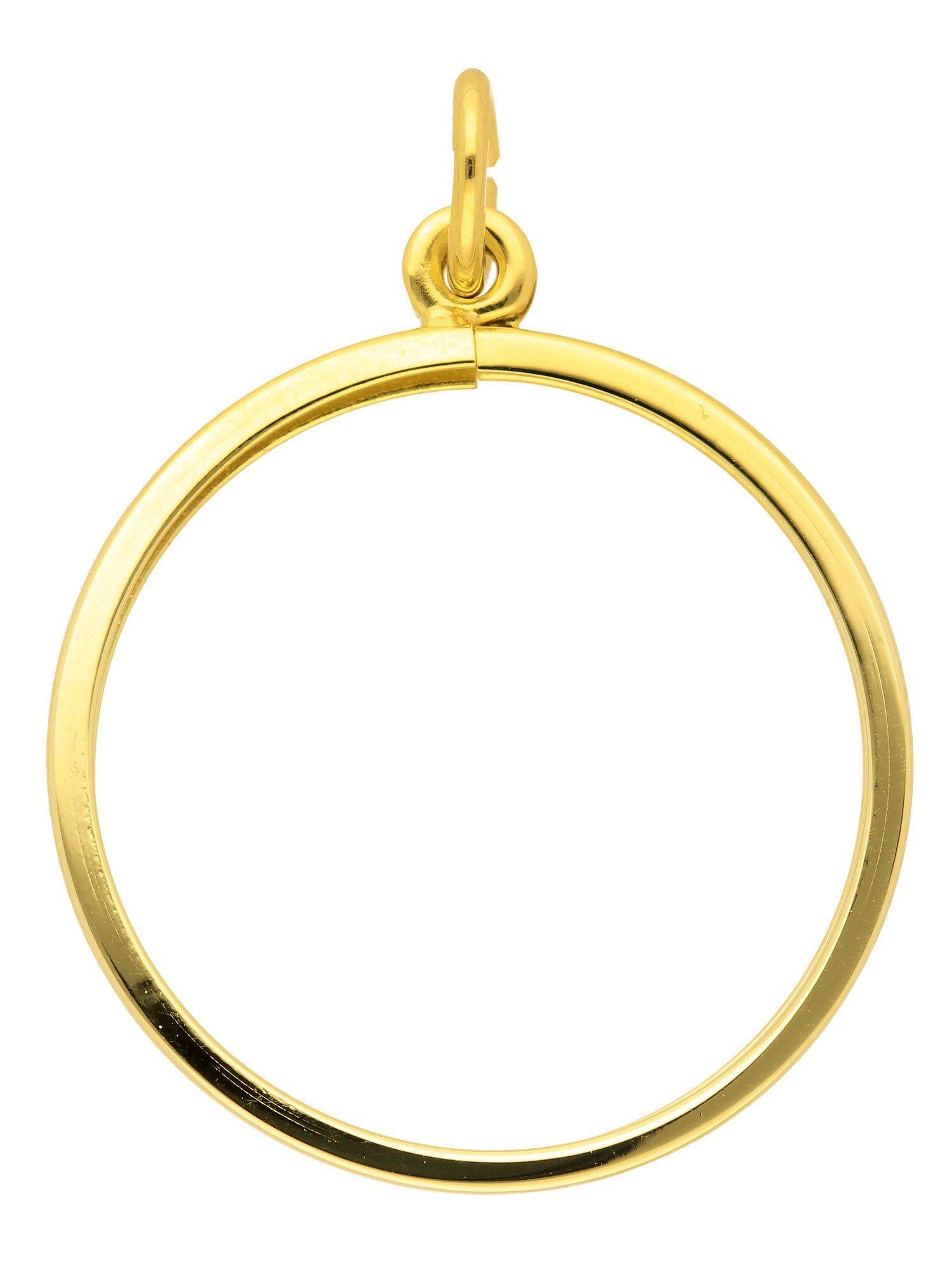 Adelia´s Kettenanhänger »Gold Münzfassungen« 14 k 585 Gelbgold | Schmuck > Halsketten > Ketten ohne Anhänger | Adelia´s