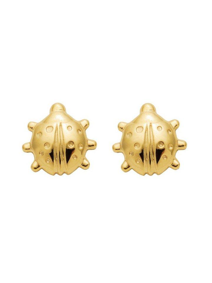 Adelia´s Paar Ohrstecker »Gold 8 k (333) Ohrringe - Ohrstecker« Marienkäfer 8 k 333 Gelbgold | Schmuck > Ohrschmuck & Ohrringe > Ohrstecker | Goldfarben | Adelia´s
