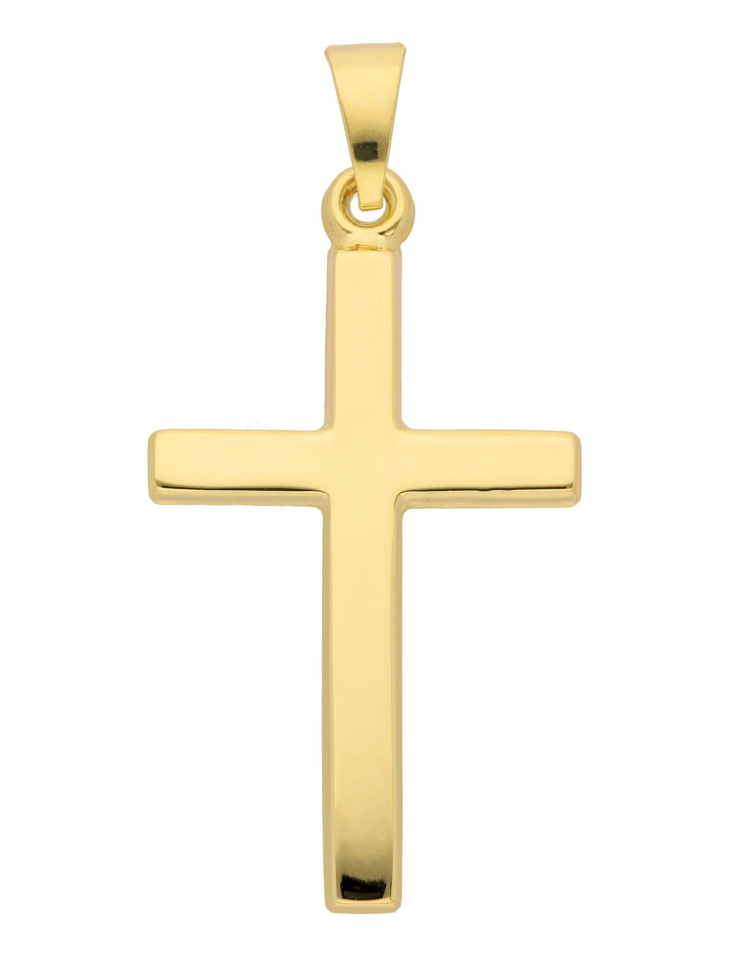 Adelia´s Kettenanhänger »Gold Anhänger« 14 k 585 Gelbgold