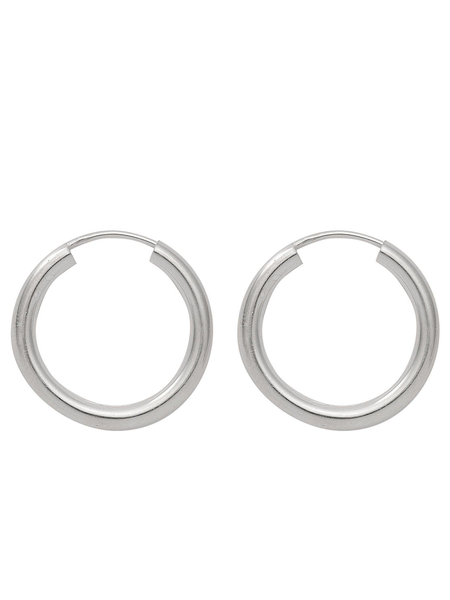 Adelia´s Paar Creolen »Silber Ohrringe« 925 Sterling Silber Ø 5 cm | Schmuck > Ohrschmuck & Ohrringe > Creolen | Adelia´s