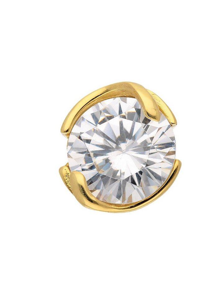 Adelia´s Kettenanhänger »Gold Anhänger« 9 k 375 Gelbgold mit Zirkonia   Schmuck > Halsketten > Kettenanhänger   Goldfarben   Adelia´s