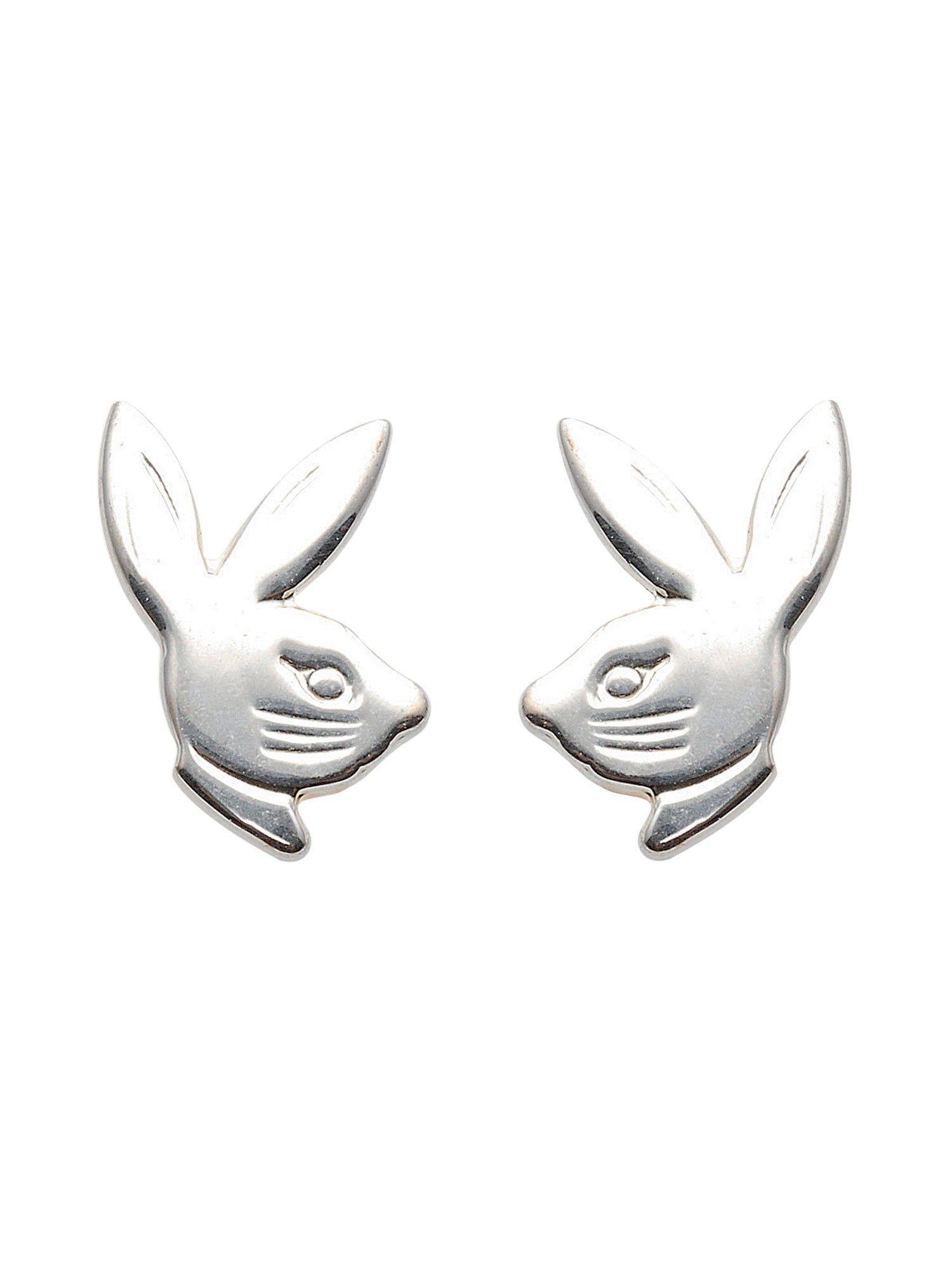 Adelia´s Paar Ohrstecker »Silber Ohrringe« Hasenkopf 925 Sterling Silber | Schmuck > Ohrschmuck & Ohrringe > Ohrstecker | Silber | Adelia´s