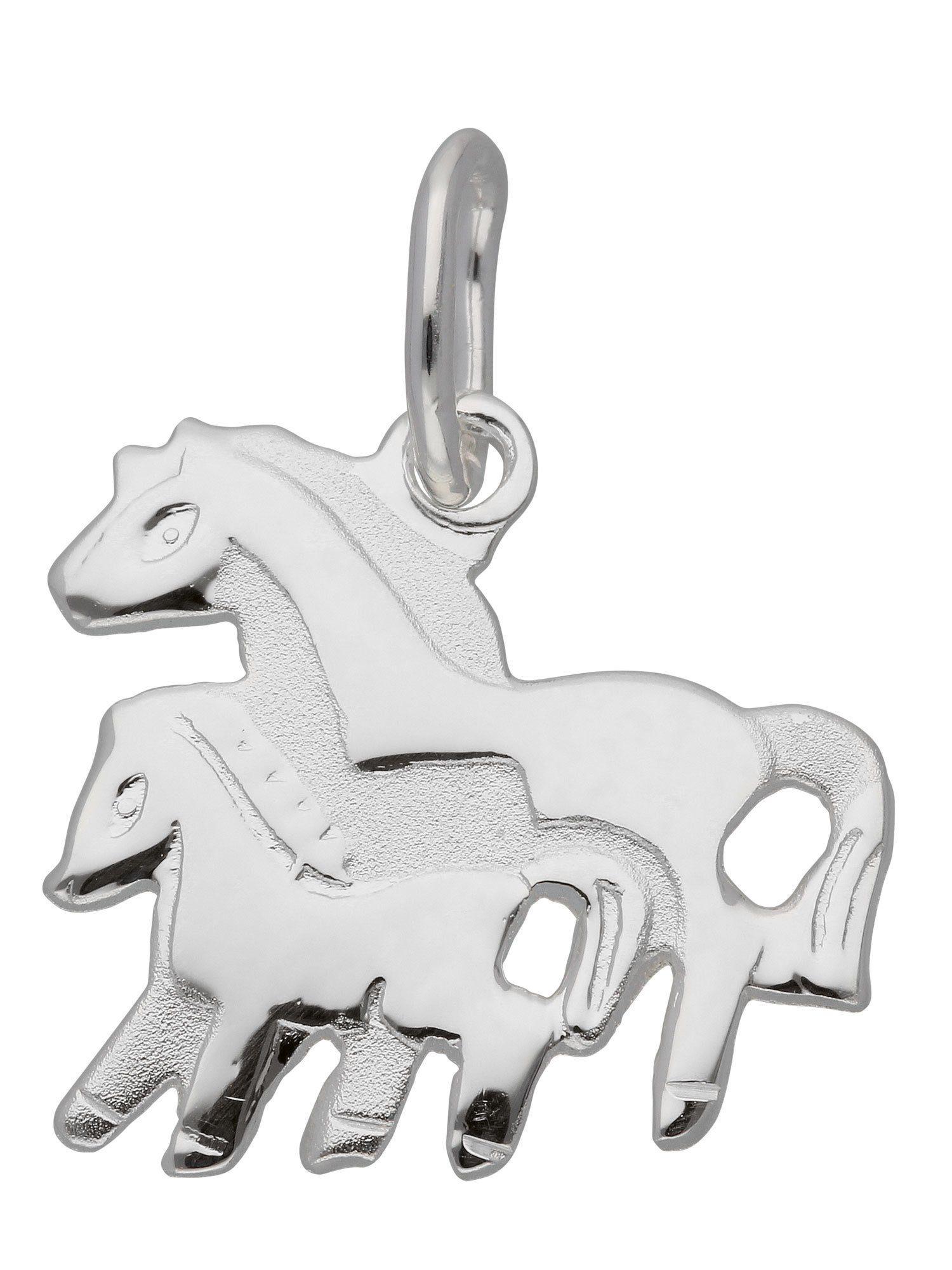 Adelia´s Kettenanhänger »Silber 925 Sterling Silver Motiv - Anhänger« Pferd 925 Sterling Silber