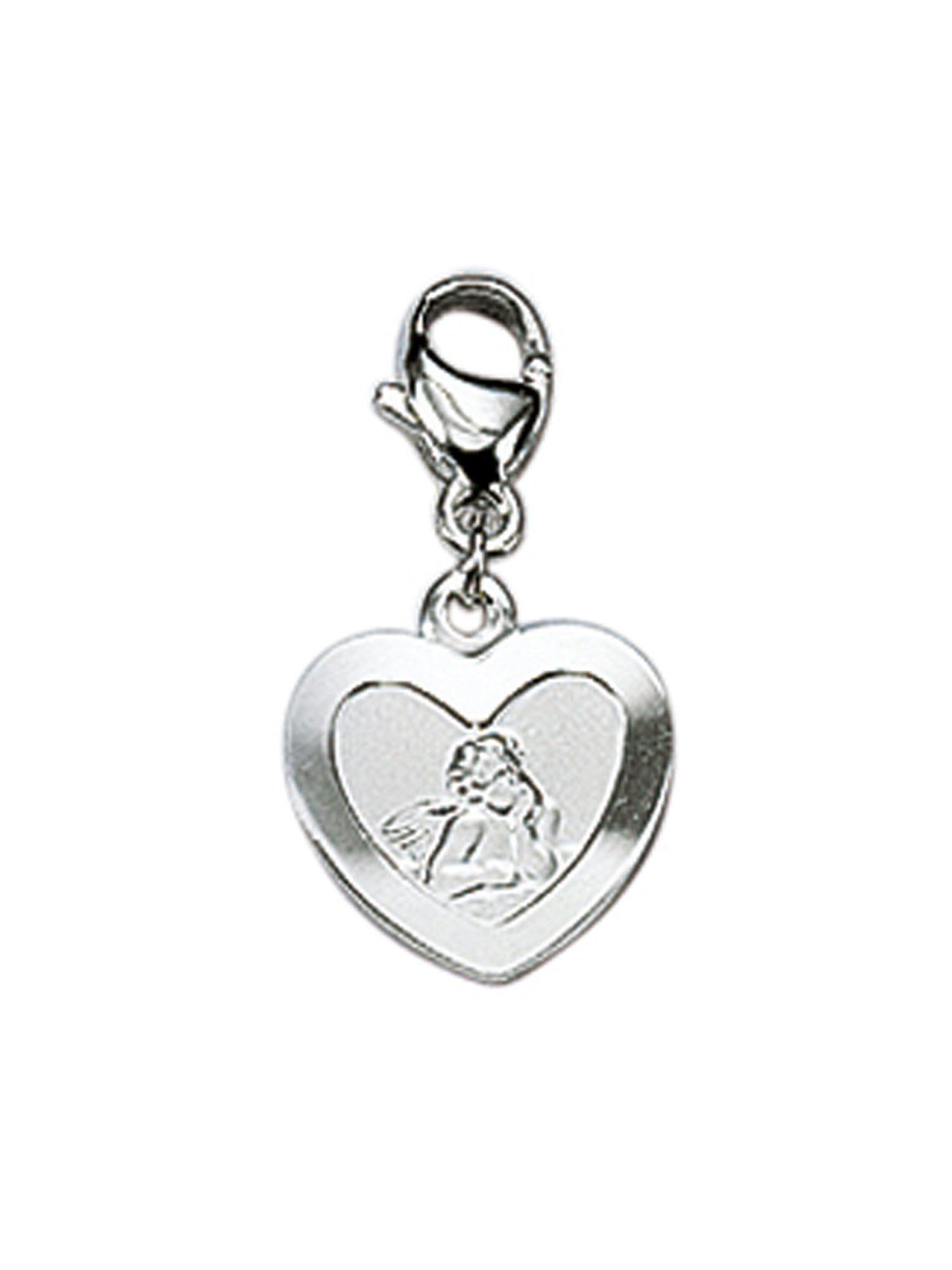 Adelia´s Charm-Einhänger »Silber Anhänger« Amor 925 Sterling Silber