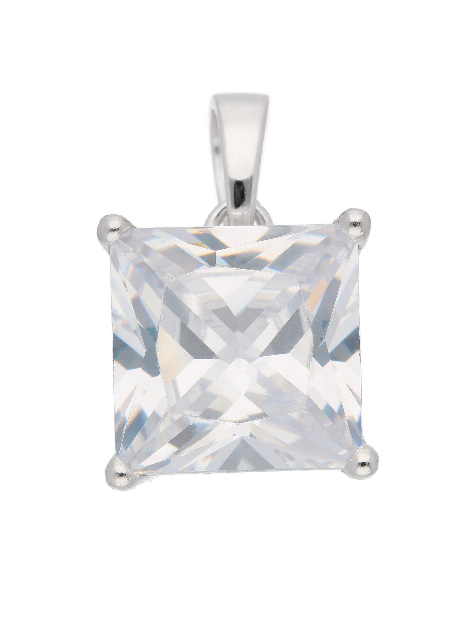 Adelia´s Kettenanhänger »Silber 925 Sterling Silver Anhänger« 925 Sterling Silber mit Zirkonia