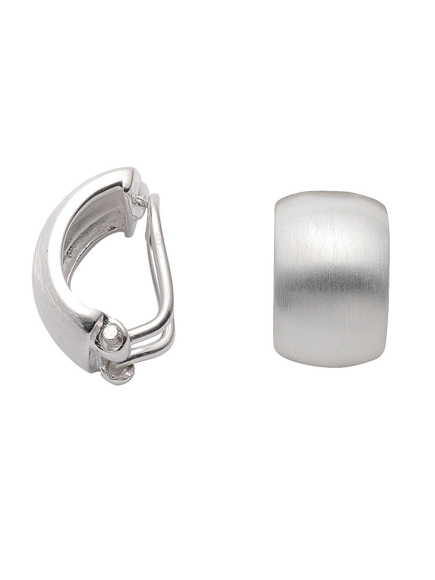 Adelia´s Paar Ohrclips »Silber Ohrringe« 925 Sterling Silber