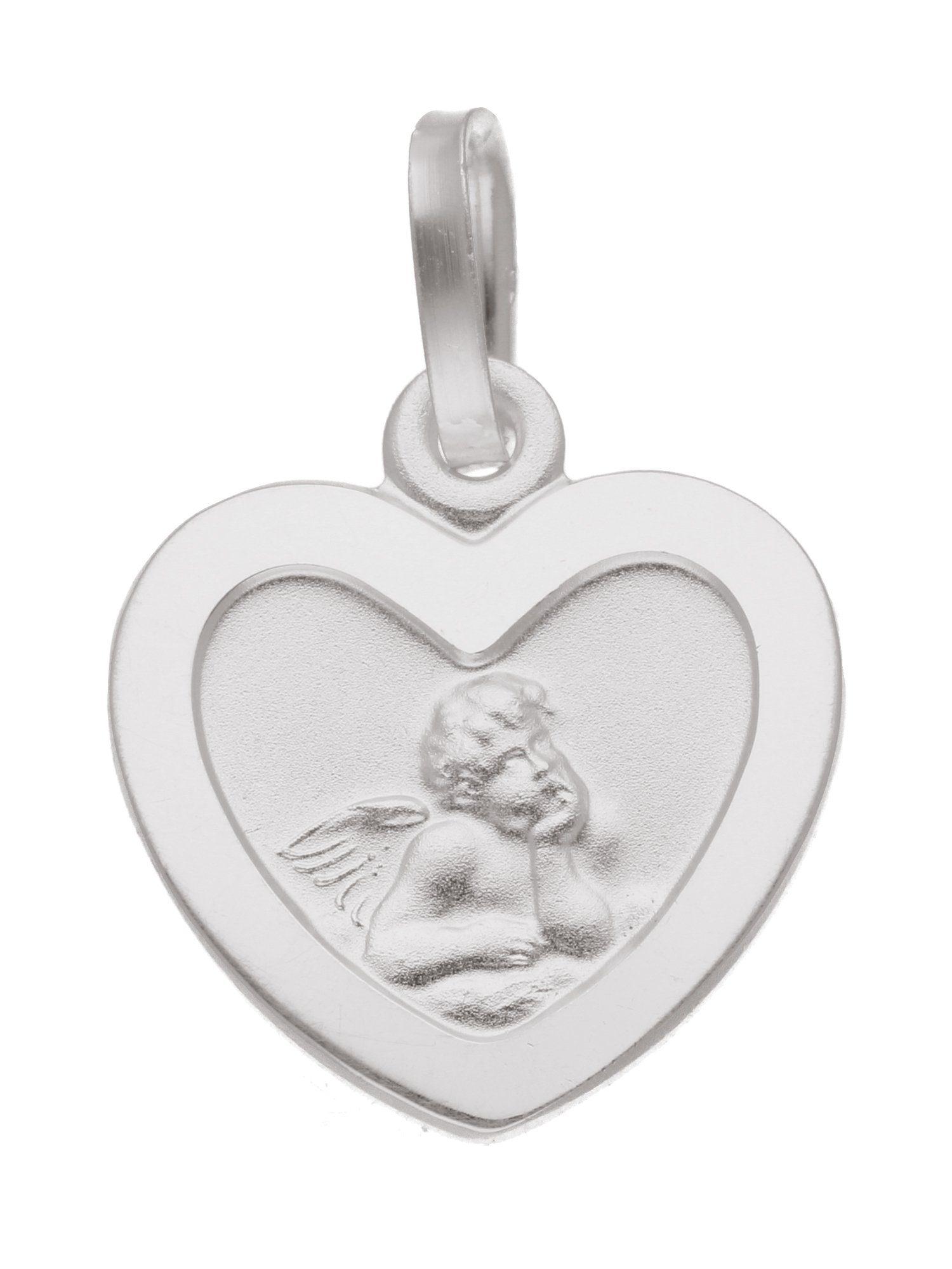 Adelia´s Kettenanhänger »Silber Anhänger« Amor 925 Sterling Silber