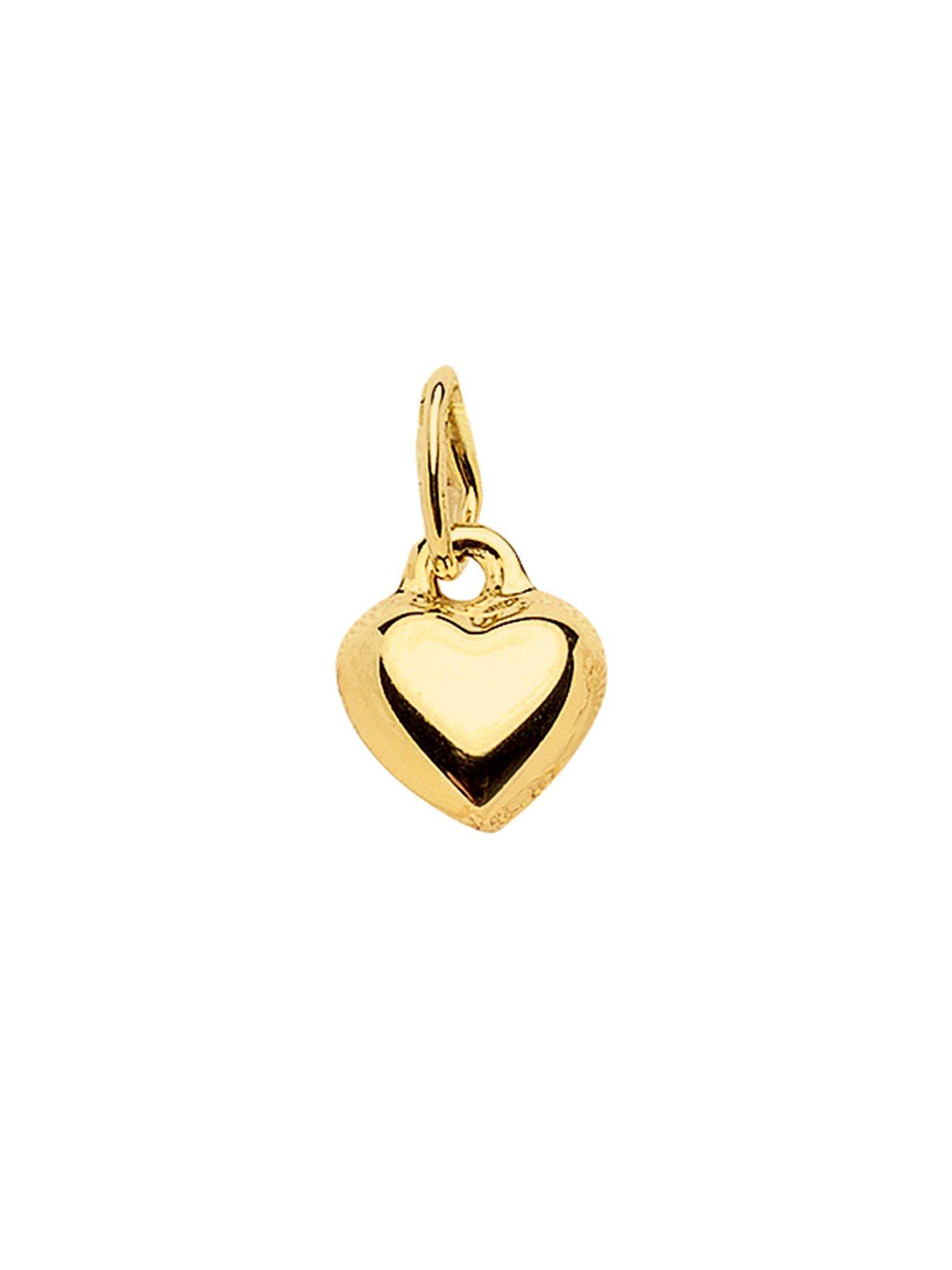 Adelia´s Kettenanhänger »Gold Anhänger« Herz 8 k 333 Gelbgold | Schmuck > Halsketten > Ketten ohne Anhänger | Goldfarben | Adelia´s