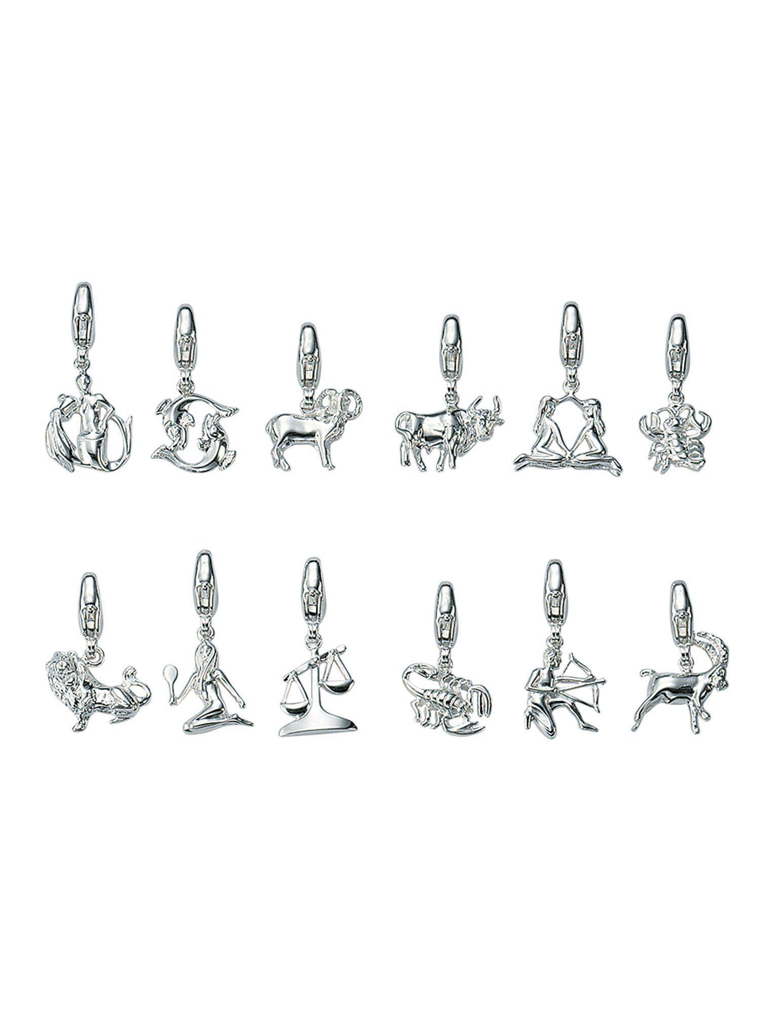 Adelia´s Charm-Einhänger »Silber Anhänger« Widder 925 Sterling Silber