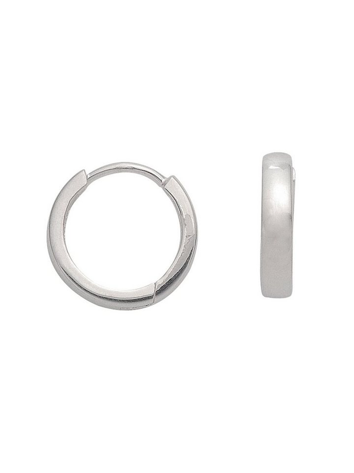 Adelia´s Paar Creolen »Silber 925 Sterling Silver Ohrringe - Creolen« 925 Sterling Silber Ø 1.4 cm | Schmuck > Ohrschmuck & Ohrringe > Creolen | Adelia´s