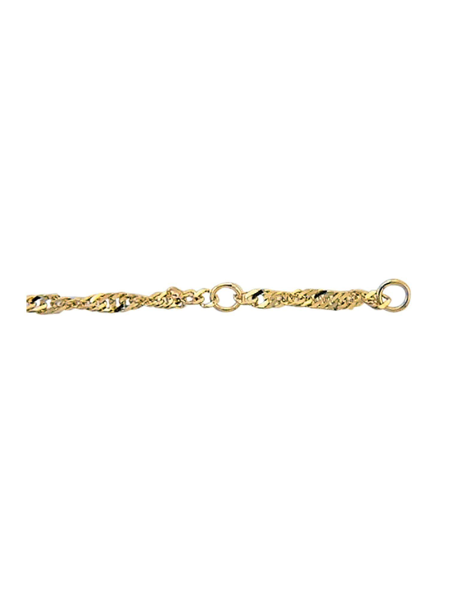 Adelia´s Fußkette »Gold Fußkettchen« 8 k 333 Gelbgold Singapur Kette