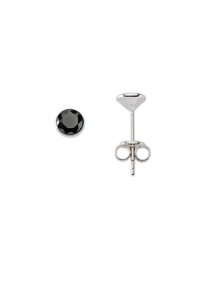 Adelia´s Paar Ohrstecker »Silber 925 Sterling Silver Ohrringe - Ohrstecker« 925 Sterling Silber mit Zirkonia Ø 6.6 mm | Schmuck > Ohrschmuck & Ohrringe > Ohrstecker | Bunt | Adelia´s