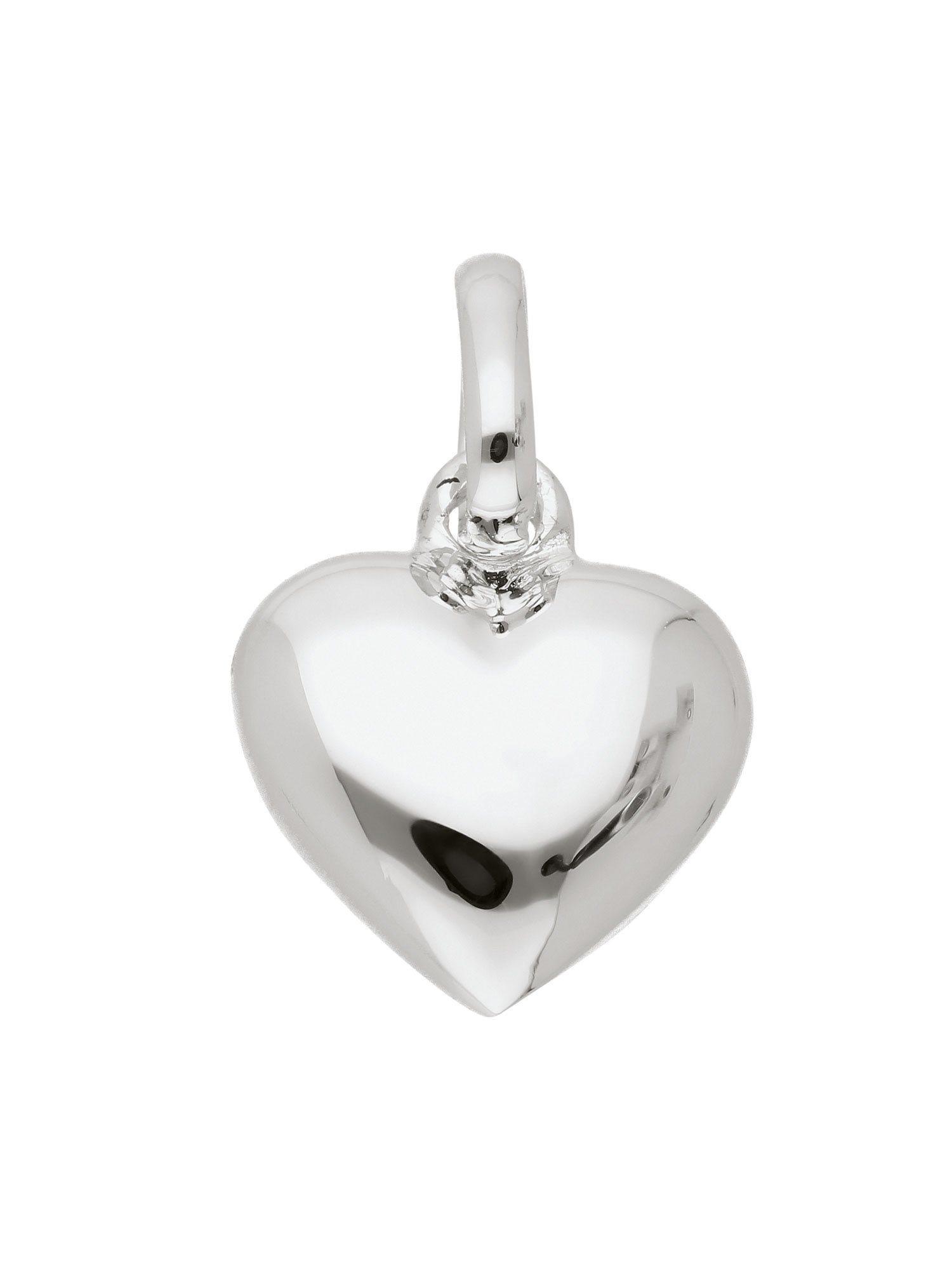 Adelia´s Kettenanhänger »Silber Anhänger« Herz 925 Sterling Silber   Schmuck > Halsketten > Ketten ohne Anhänger   Adelia´s
