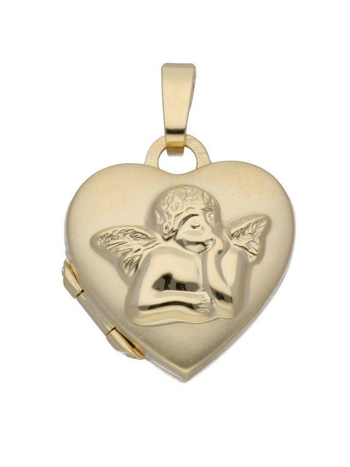 Adelia´s Kettenanhänger »Gold 8 k (333) Medaillon Anhänger« 8 k 333 Gelbgold | Schmuck > Halsketten > Ketten ohne Anhänger | Goldfarben | Adelia´s