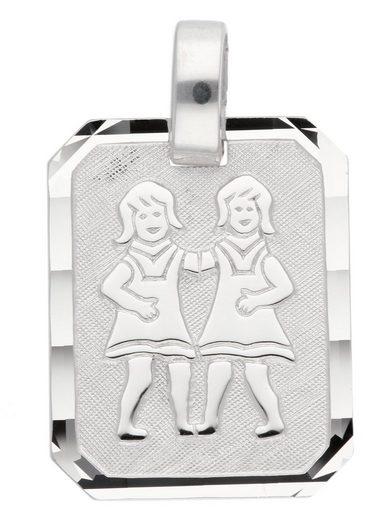 Adelia´s Kettenanhänger »Silber 925 Sterling Silver Sternzeichen Anhänger« Zwilling 925 Sterling Silber