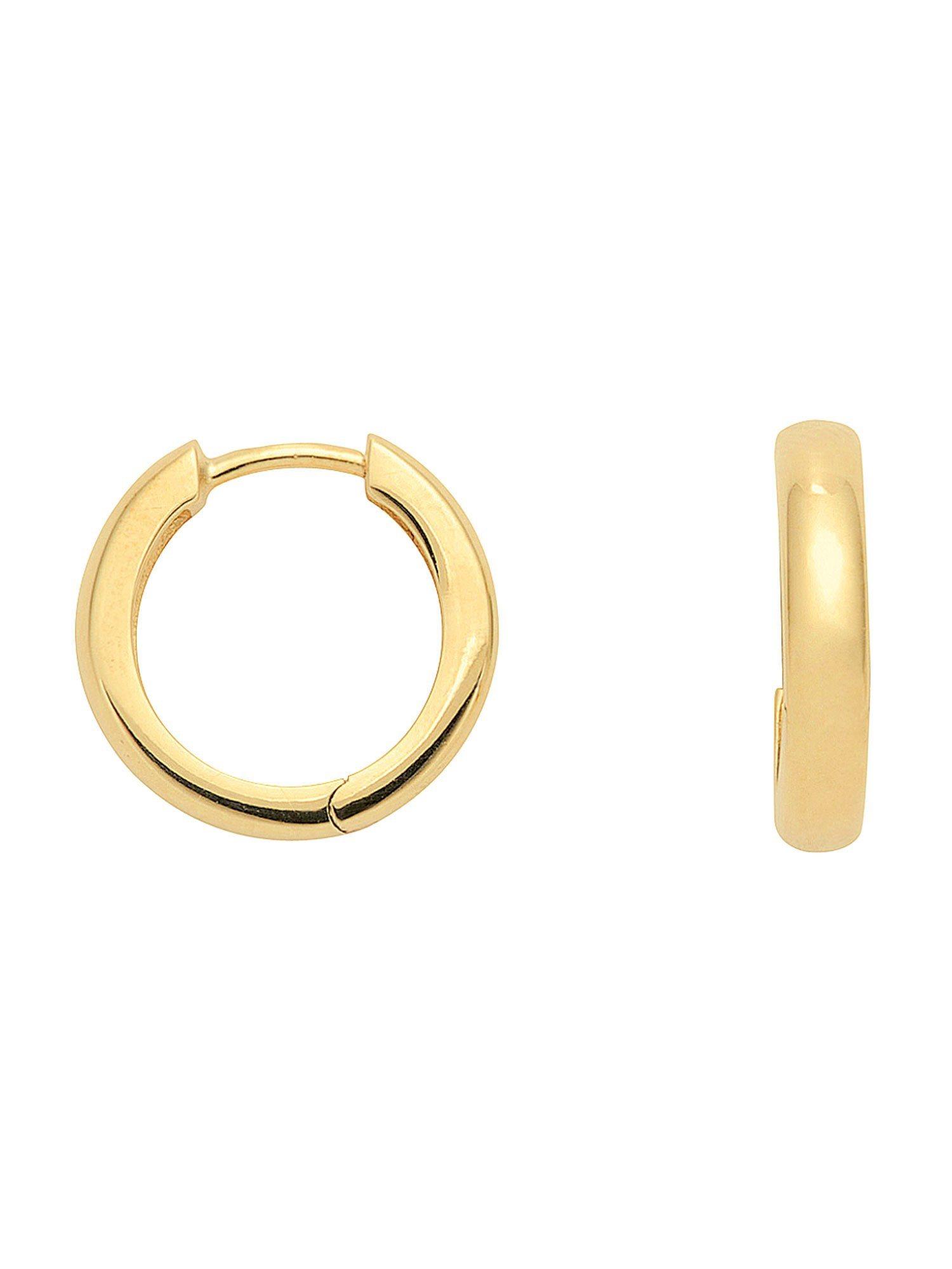 Adelia´s Paar Creolen »Gold Ohrringe« 14 k 585 Gelbgold Ø 1.5 cm | Schmuck > Ohrschmuck & Ohrringe > Creolen | Adelia´s