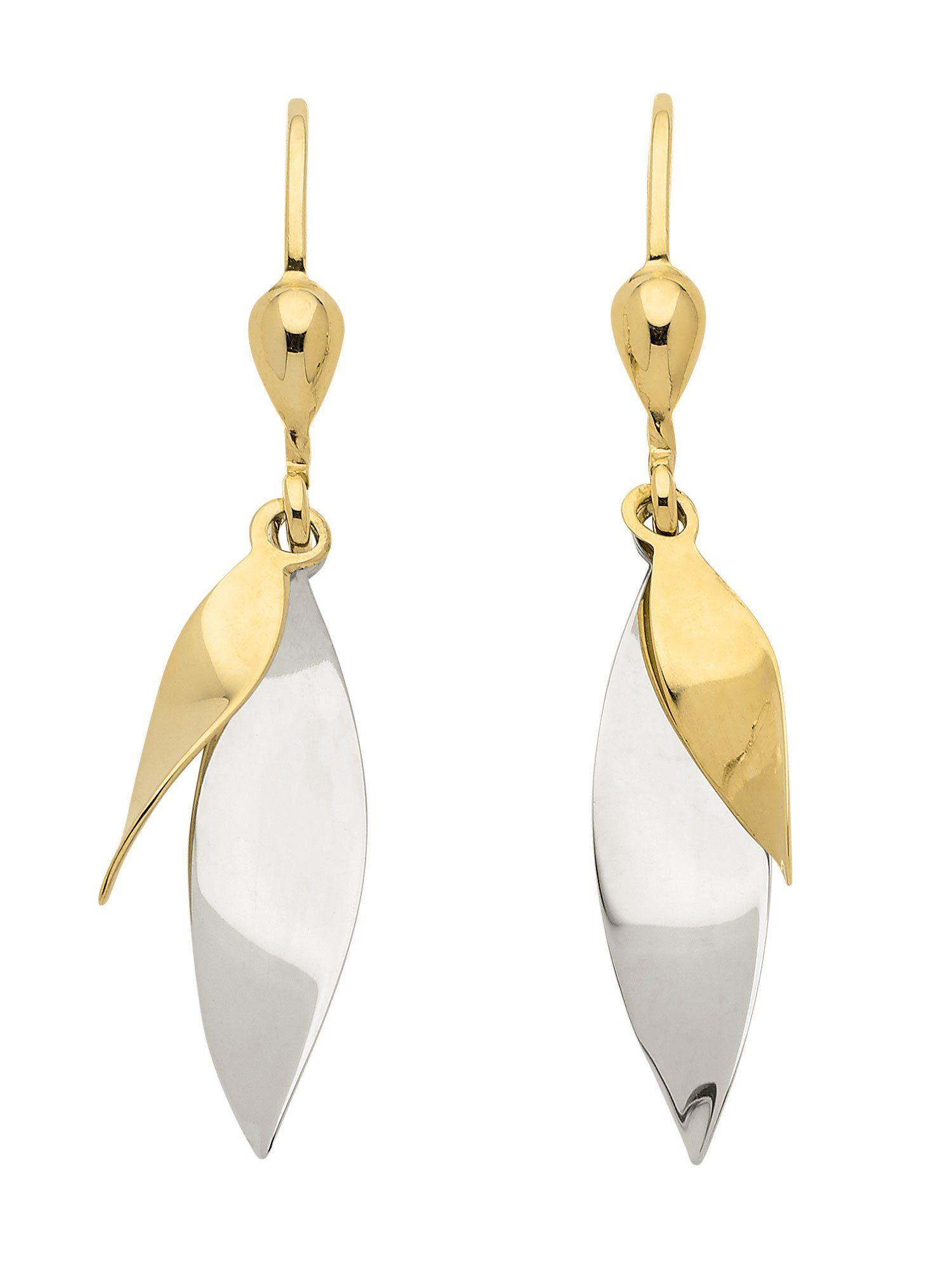 Adelia´s Paar Ohrhänger »Gold Ohrringe« 8 k 333 Gelbgold