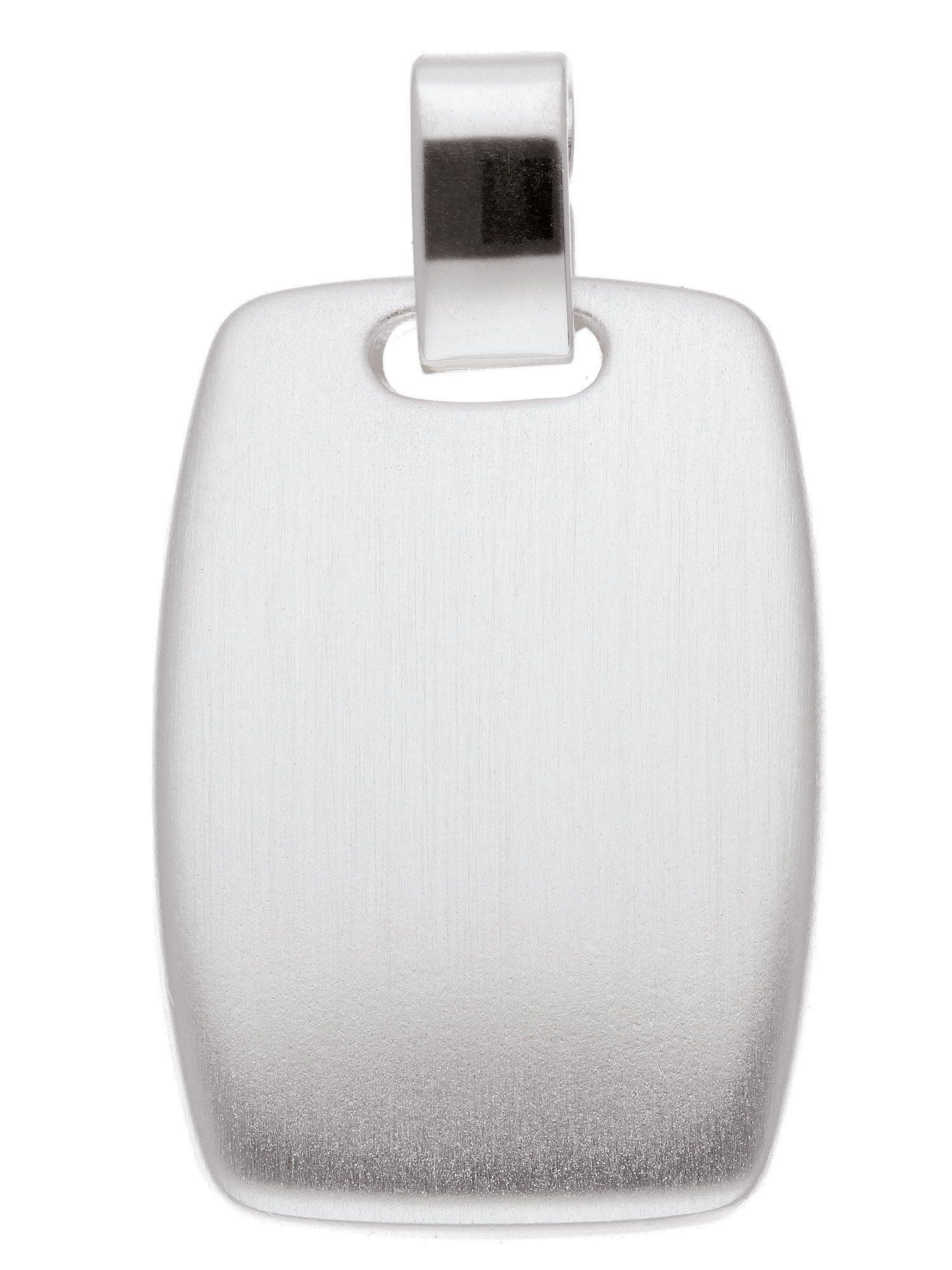 Adelia´s Kettenanhänger »Silber Gravurplatte«, 925 Sterling Silber | Schmuck > Halsketten > Ketten ohne Anhänger | Silber | Adelia´s