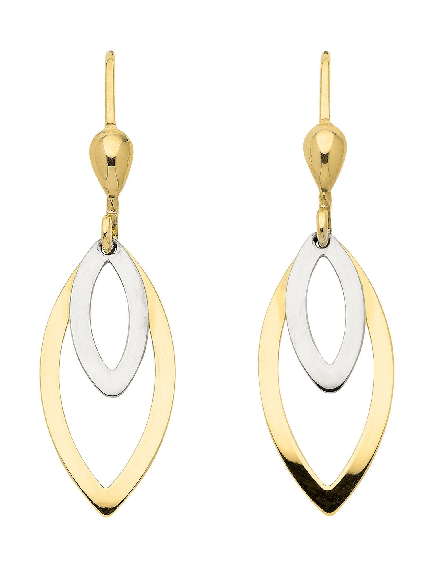 Adelia´s Paar Ohrhänger »Gold 8 k (333) Ohrringe - Ohrhänger« 8 k 333 Gelbgold