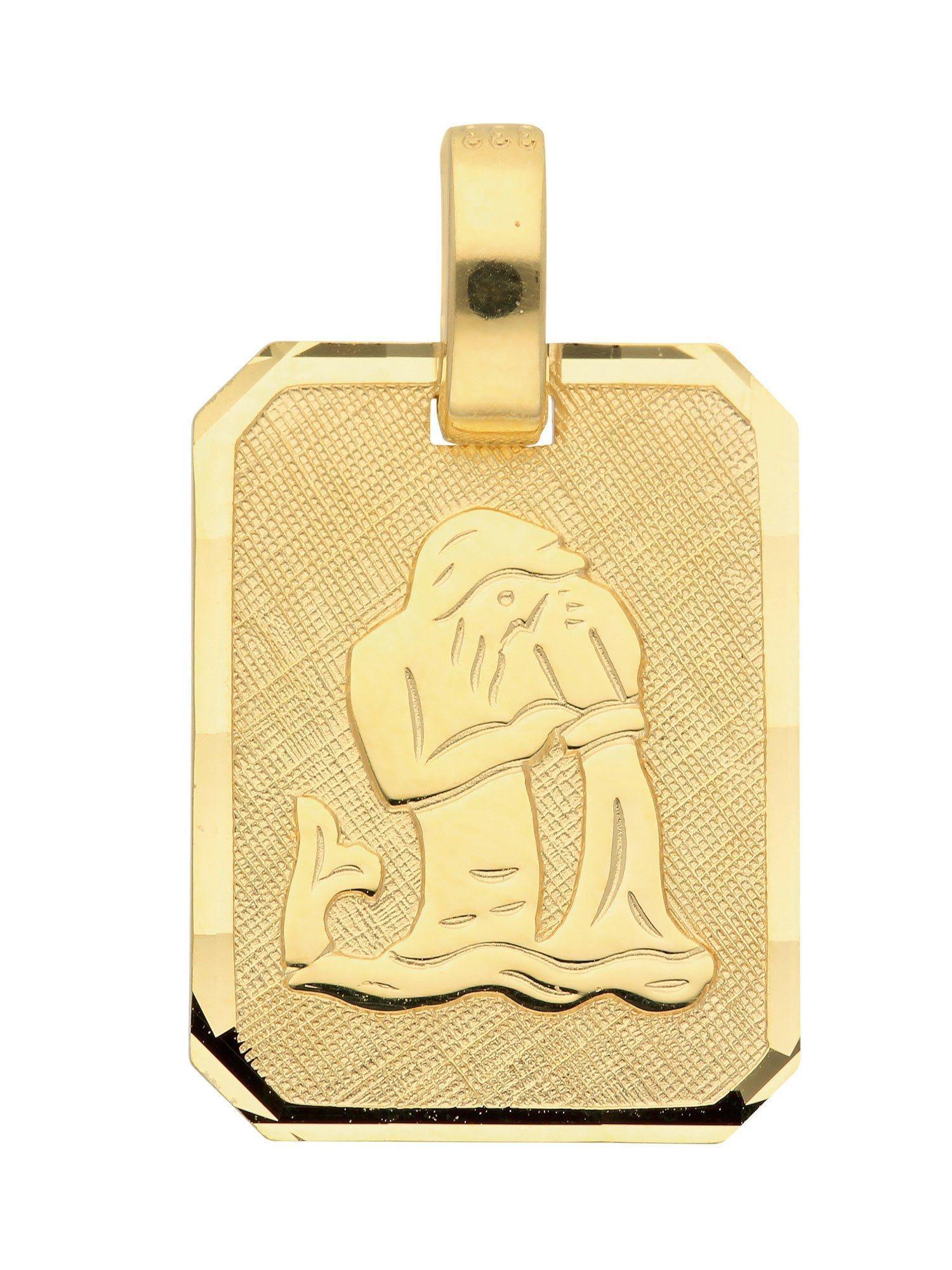 Adelia´s Kettenanhänger »Sternzeichen Gold Anhänger«, Wassermann 8 k 333 Gelbgold | Schmuck > Halsketten > Ketten ohne Anhänger | Adelia´s
